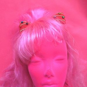 2 nwt ugly christmas tree red xmas hair clips